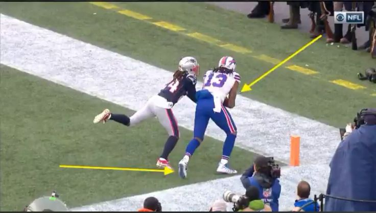 Another week, another win and another controversial call on a key play in a Patriots game that goes New England's way. On a play that would have given the Bills the lead in the 2nd quarter, K…