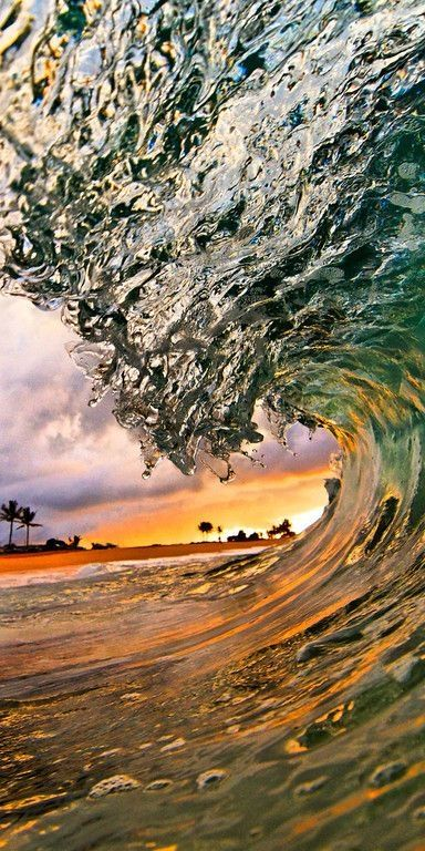 wave, Hawaii