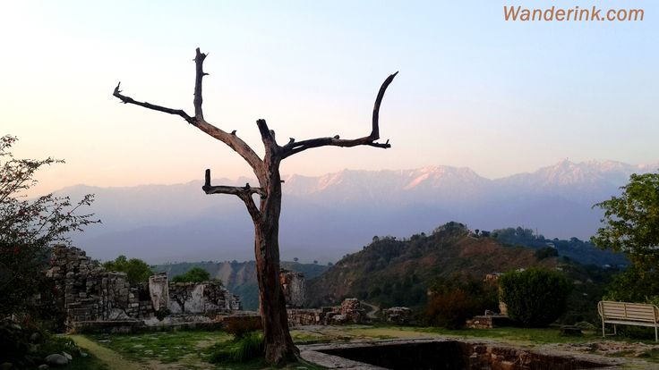 The serene Dhauladhar range from the Kangra Fort in Himachal Pradesh. Read more on 'Kangra Fort: The enticing formidable' on Wanderink.com