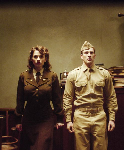Peggy Carter, Steve Rogers || Captain America TFA || 500px × 601px || #hmsbestgirl