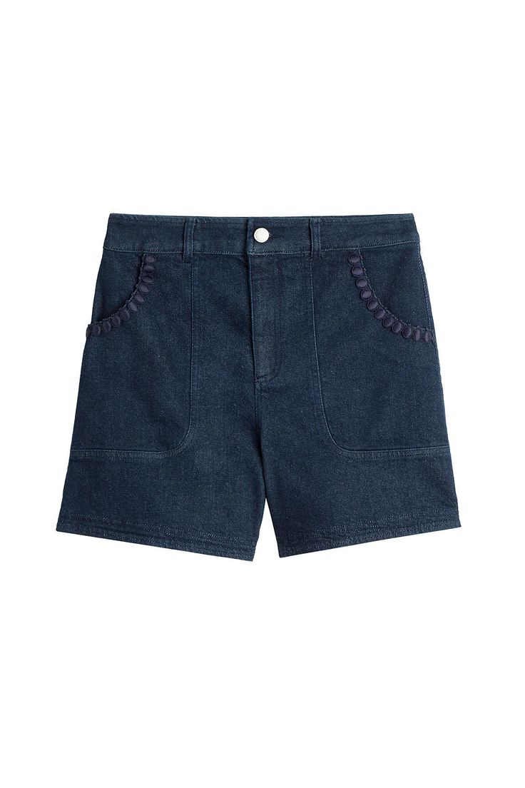See by Chloé - High-Waisted Jean Shorts