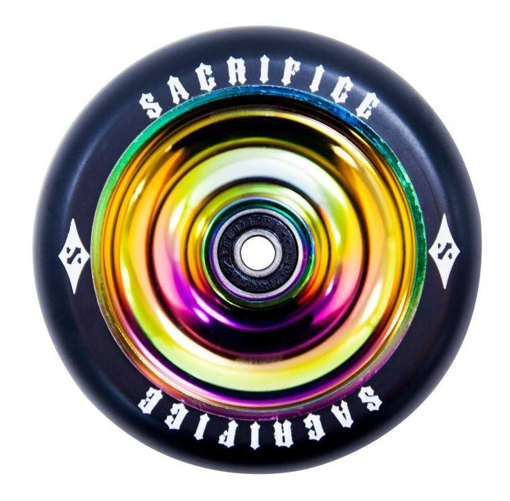 Sacrifice Oil Slick Stunt Scooter Wheel