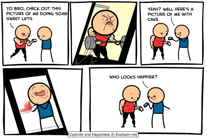 Cyanide and Happiness - Who reeeally looks happier
