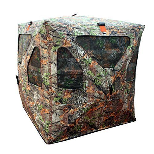 New Deer Hunting Game True Timber Camo Ground Hub Blinds