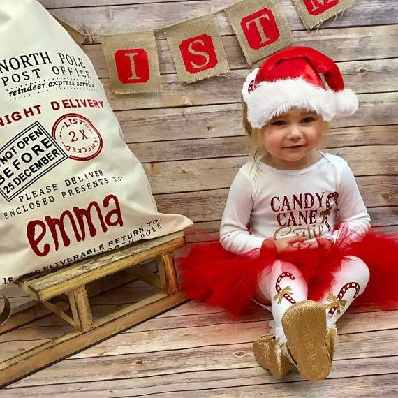 Candycane Cutie | Christmas Outfit Baby Girl thankful shirt | Christmas Toddler Outfit | Christmas Outfits for Girls | Candy Cane Cutie #ad #afflink