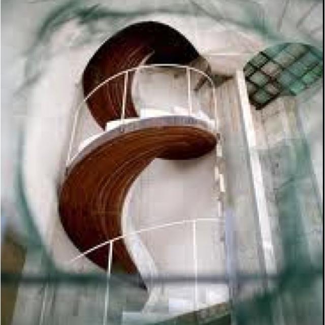 By Antoni Gaudi stairsBarcelona Barcelona, Escaleras Sagrada, Barcelona Spain, Gaudi Stairs, Holy Family, Antoni Gaudí, Familia Barcelona, Spirals Staircas