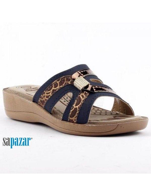 Gezer 9616 Bayan Zenne Kutulu Terlik Karisik Terlik Sandalet Ayakkabilar