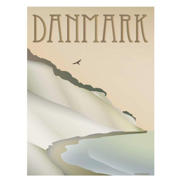 ViSSEVASSE plakat - DANMARK / Klinten ønskes i str 30x40