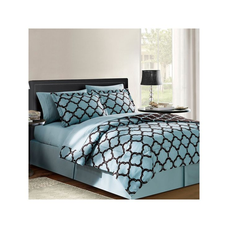 Vcny Galaxy 8-pc. Reversible Bed Set, Blue