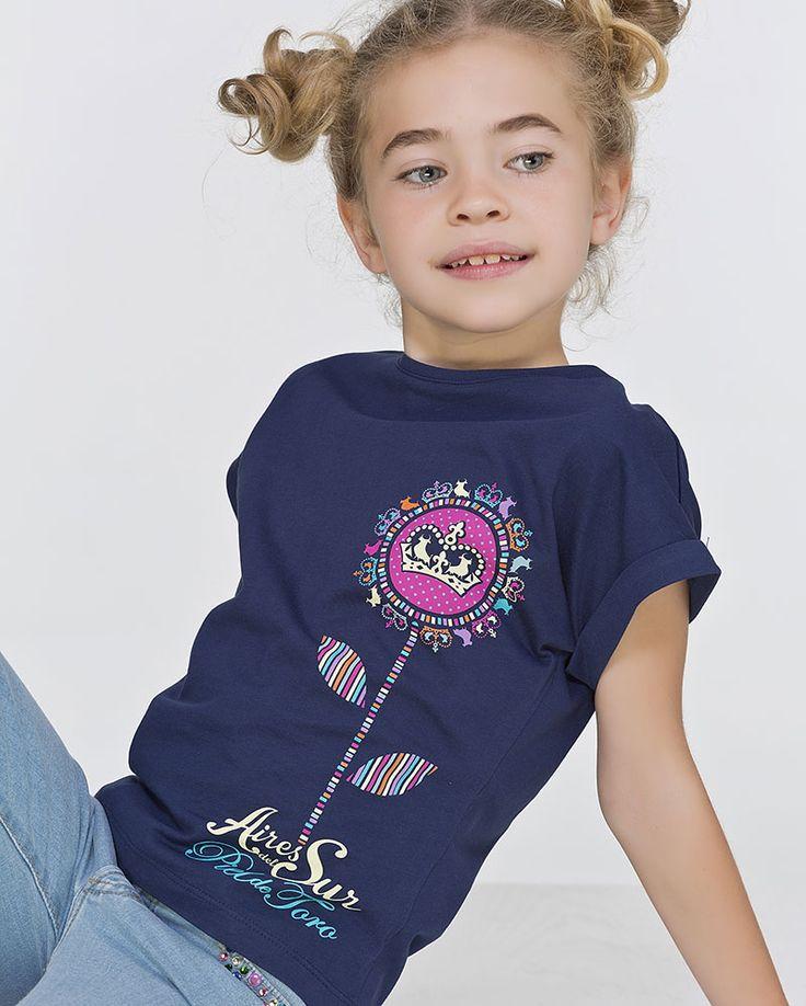 Camisetas para presumir como una princesa. tienda.pieldetoro.com/131-nina