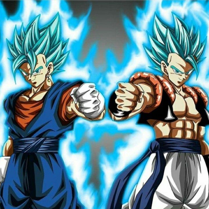 Vegeto And Gogeta Blue Dragon Ball Super Goku Dragon Ball Art