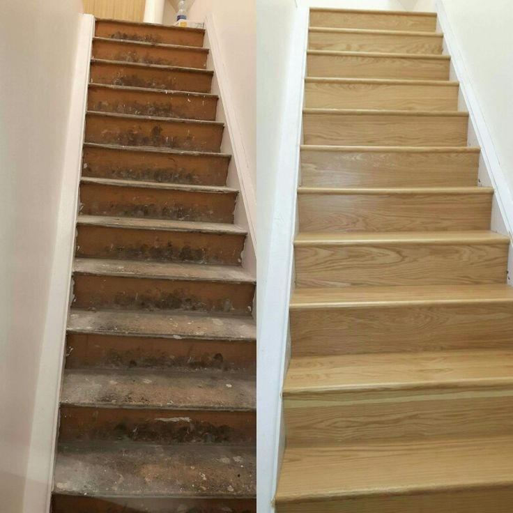 Awesome Before U0026 After The Effect Of An Oak Stairs Refurb By Murphy Larkin.