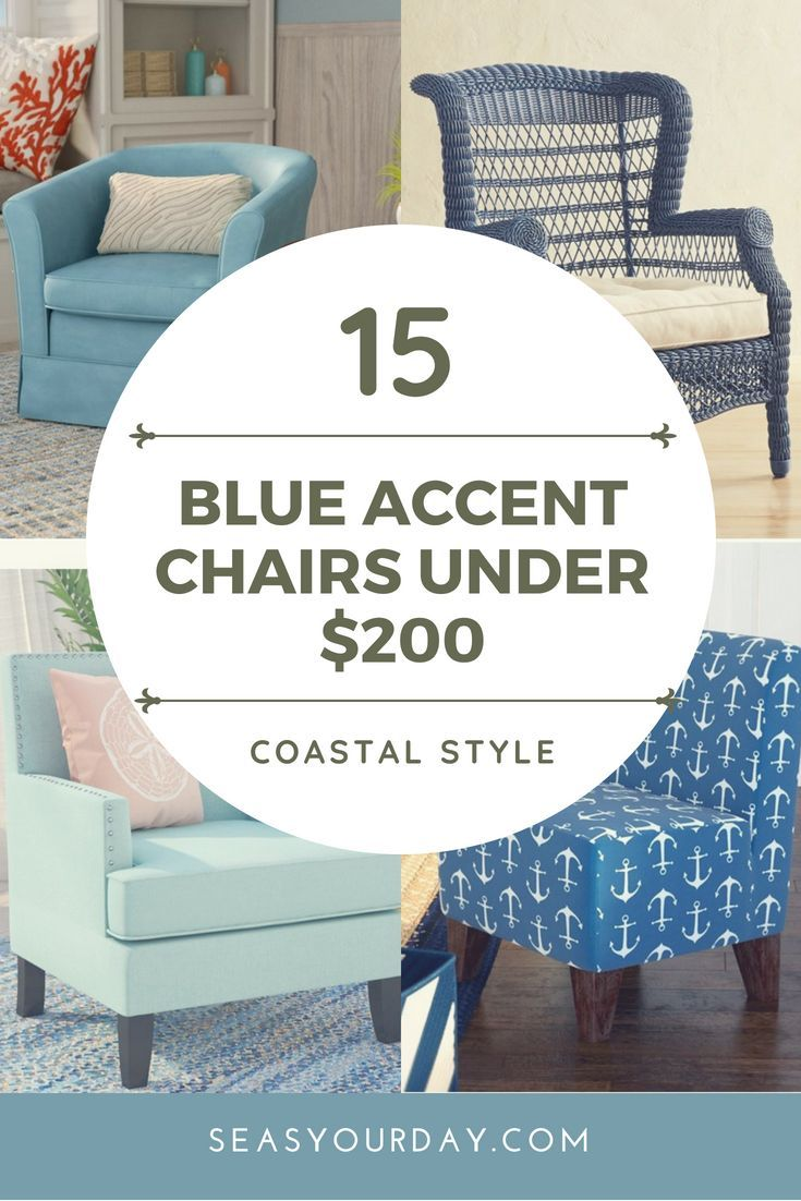 99 Coastal Blue Accent Chairs Under 200 Blue Accent Chairs