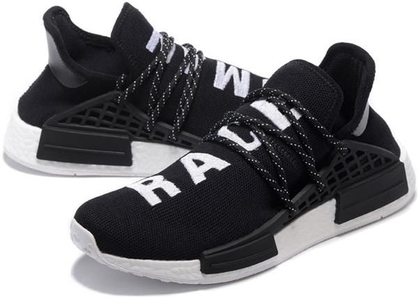 Adidas NMD Huhan Race Mens running shoes Black white[S79167]6