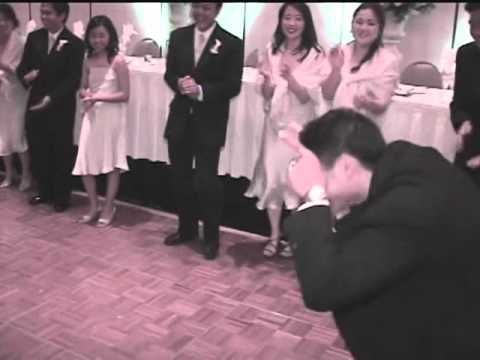 Hilarious Wedding Reception Grand Entrance By The Bride And Groom