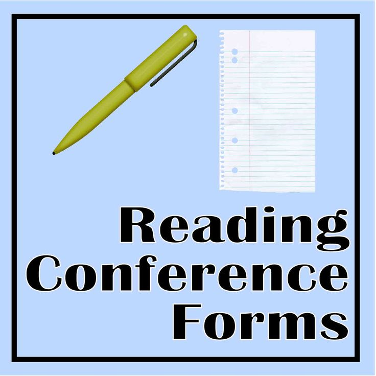 Independent Reading Conference Forms for the Teacher - choose from three different forms.  Pick the conference format that works best for you!  Simply print and create your conferencing binder.