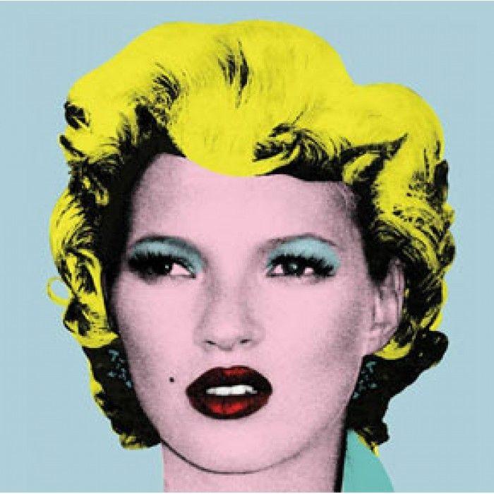 The Banksy Shop - Banksy Canvas Print - Kate Moss, £34.95 (http://www.thebanksyshop.co.uk/banksy-canvas-print-kate-moss/)