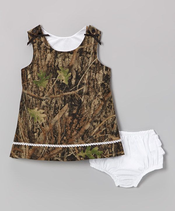 Take a look at this Conceal Green Camouflage Jumper & Diaper Cover - Infant & Toddler on zulily today!
