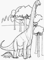 coloriage ultrasaurus