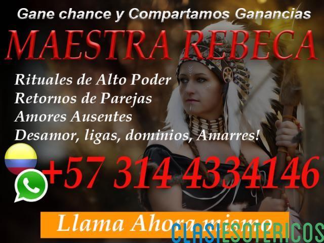 AMARRES DE AMOR DE EFECTO INMEDIATO DE LA MAESTRA REBECA +57 314 4334146 - Clasiesotericos Colombia