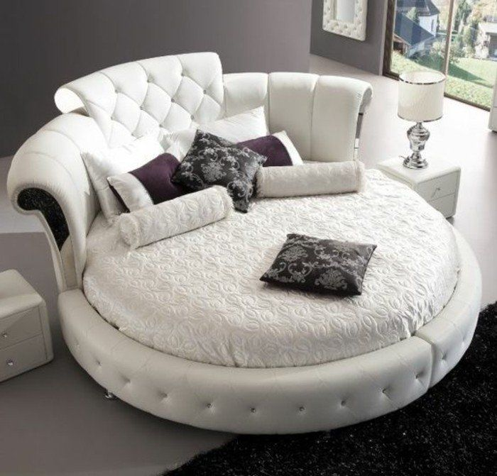 les 25 meilleures id es de la cat gorie lit rond sur pinterest lit bebe rond coin rond et. Black Bedroom Furniture Sets. Home Design Ideas