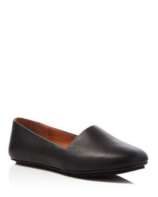 Kenneth Cole Jayden Tumbled Leather Flats | Bloomingdale's