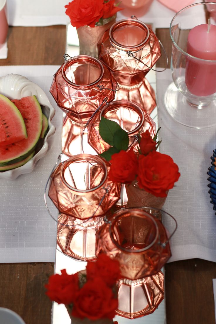 coral summer ddecorations, table decorations, Made by nature and DECOLOGICA