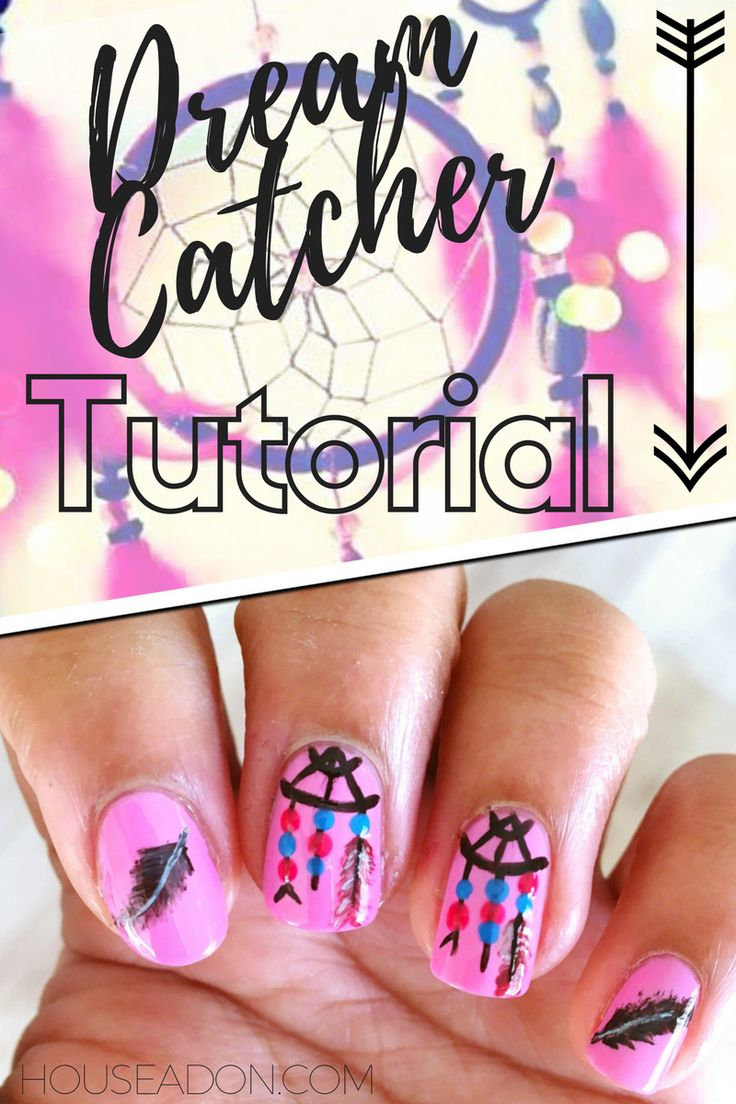 ...these Dream Catcher Nails would be the perfect summer touch. Lets be honest the Boho theme killed it this year ...this quick and easy tutorial...
