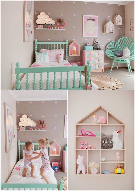 10 cute ideas to decorate a toddler girls room httpwww - Ideas For Girls Room Paint
