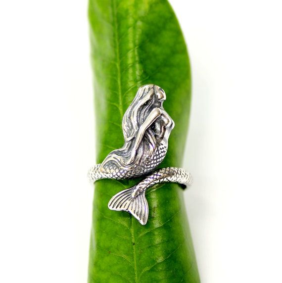 Hey, I found this really awesome Etsy listing at https://www.etsy.com/listing/239535130/mermaid-ring-463