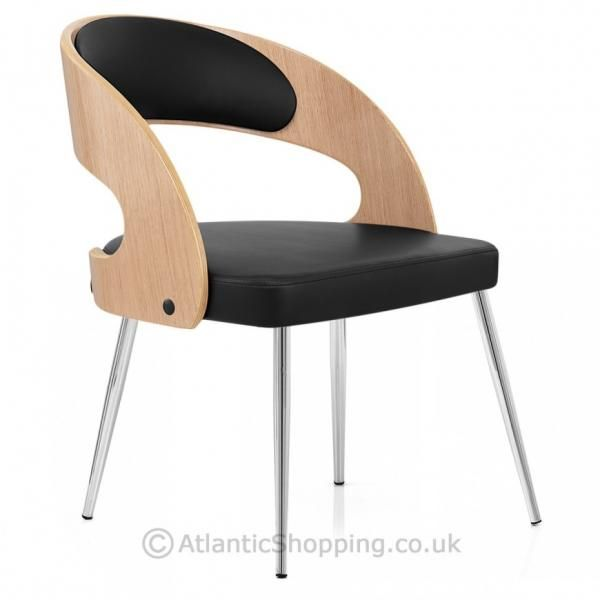 Evans Faux Leather Wooden Dining Chair  eBay