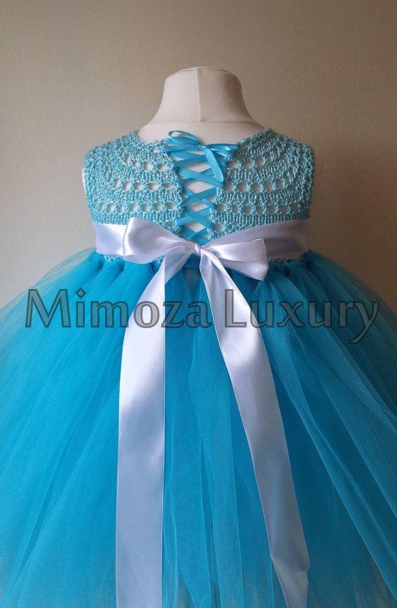 Congelati Tutu Elsa principessa principessa di neve Costume