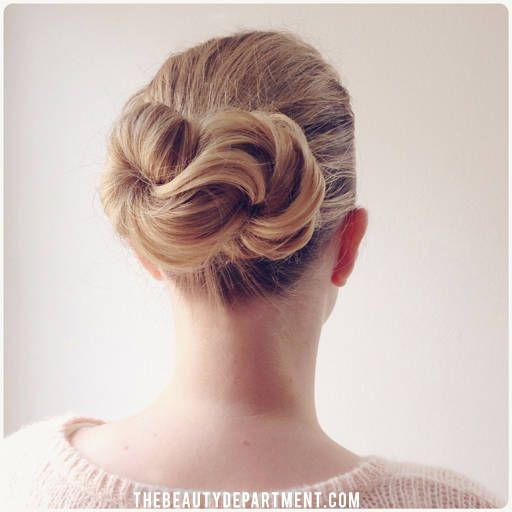 The infinity bun hair tutorial | thebeautydepartment