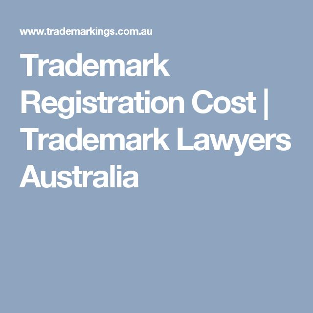 Trademark Registration Cost | Trademark Lawyers Australia