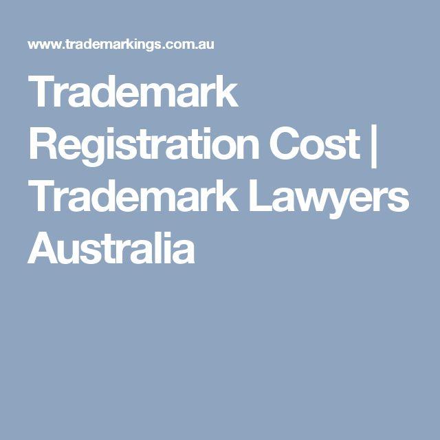 Trademark Registration Cost | Trademark Lawyers Australia