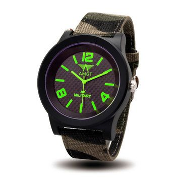 Only US$11.99 , shop AMST 3001 Military Canvas Band Men Analog Sport Watch at Banggood.com. Buy fashion Men Watch online.