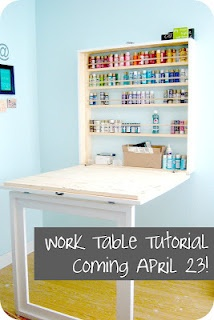 Folding Work Table!