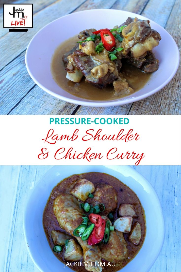 In this Live Asian Kitchen broadcast, Jackie M shares how to cook Lamb Shoulder and Chicken Curry using the Optimum Induction Pressure-Cook Pro. Click here for full recipe and replay.