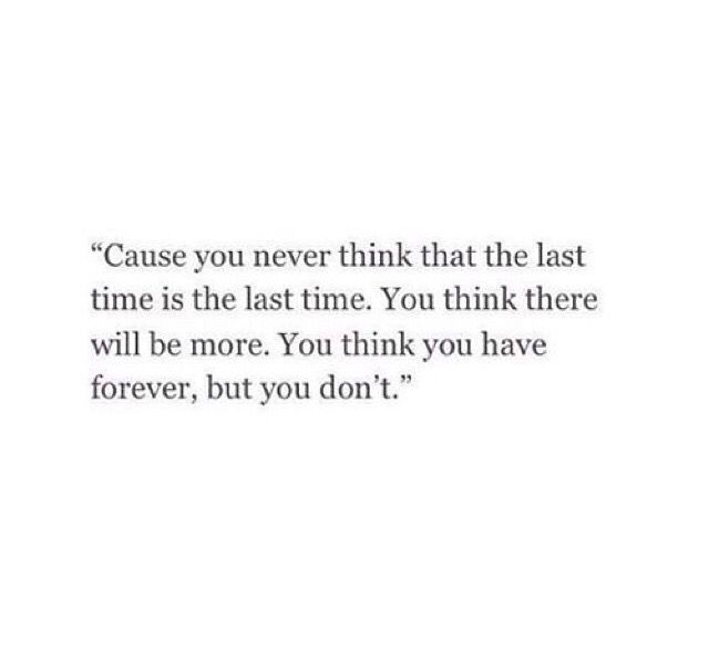 This really kills me..it runs through my head everyday and it scares the crap out of me...