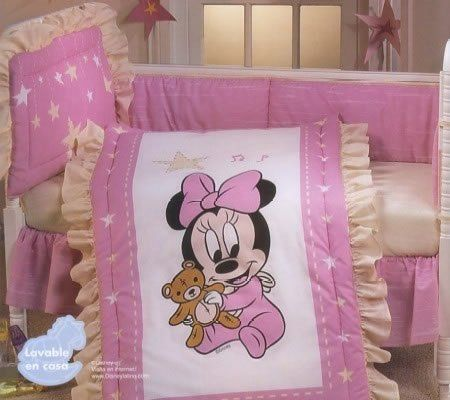 Disney Baby Minnie Crib Bedding Collection Disney Bedding And Fitted Sheets