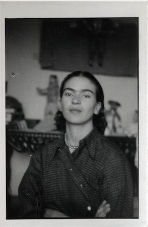 thenoguchimuseum: Portrait of Frida Kahlo found in Isamu Noguchi's archives, ca. 1930s. In all...