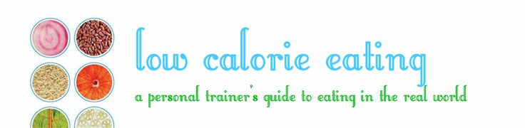 Sara is a personal trainer from Kansas City whose blog is Low Calorie Eating, She has lots of information on healthy places to eat out, tons of yummy recipes