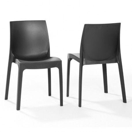 Stil kunststof designstoel, goedkoop italiaans design - Depot Design
