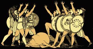 Siete contra Tebas. Blog de Análisis y resumen de la obra de Esquilo