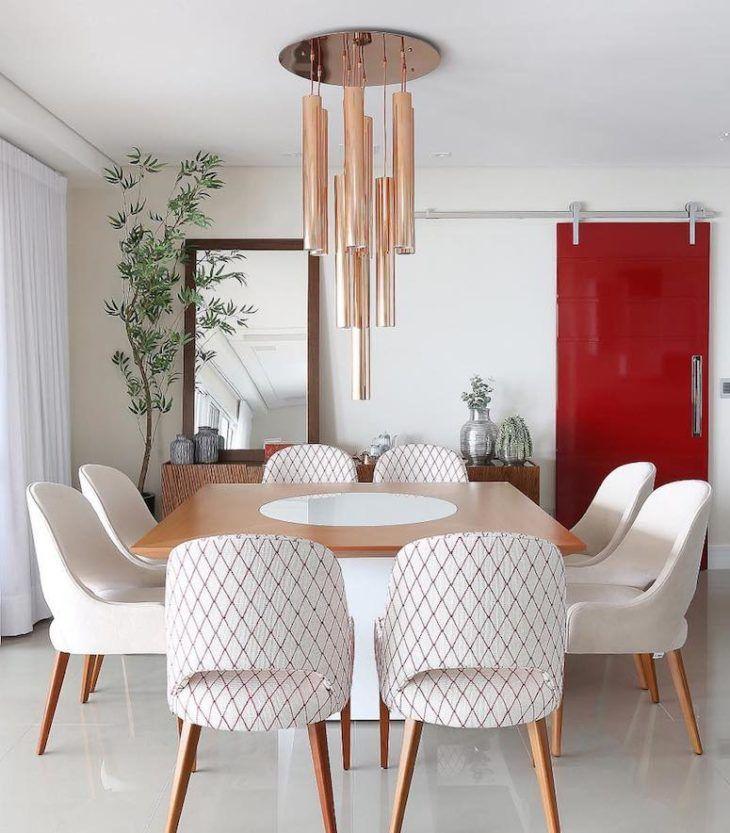 Sala de jantar: 100 designs encantadores para se inspirar   – Família
