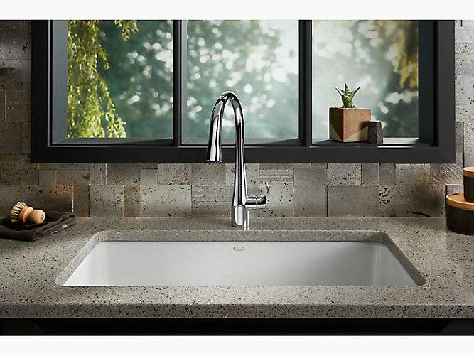 Iron Tones 33 In 2021 Cast Iron Kitchen Sinks Sink Kohler