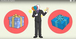 Aprende envoltura de regalos y lúcete con tus obsequios. Curso gratis.