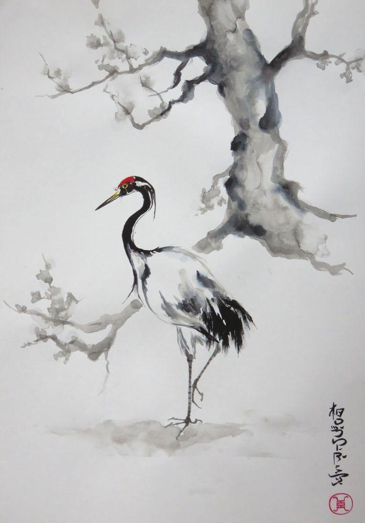Encres Peinture Zen Peintures Asiatiques Et Dessin Japonais