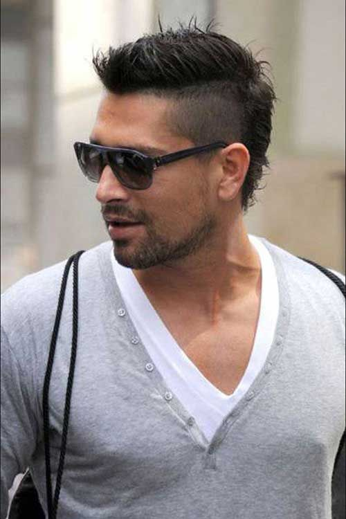 Mohawk Haircut for Men                                                                                                                                                                                 More
