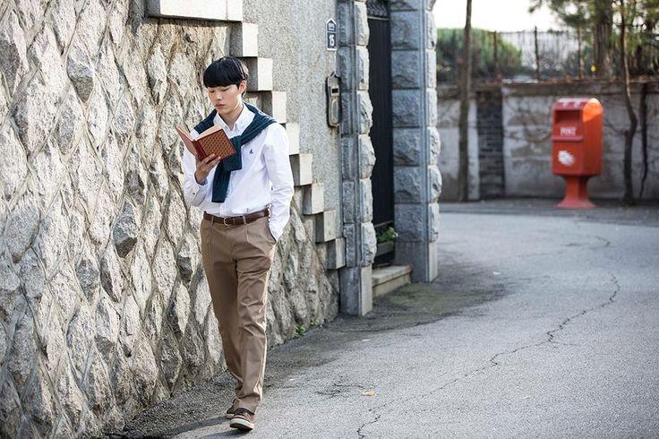 [151205] Beanpole posted Ryu Jun Yeol's CF BTS